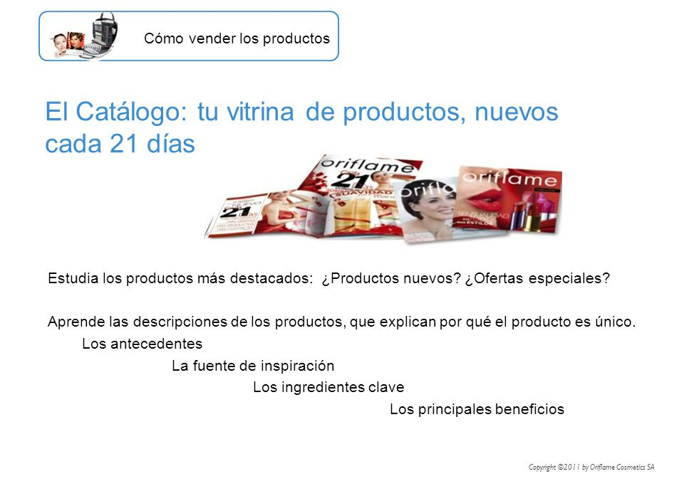Estudia los productos más destacados: ¿Productos nuevos? ¿Ofertas especiales? Aprende las descripciones de los productos, que explican por qué el prod