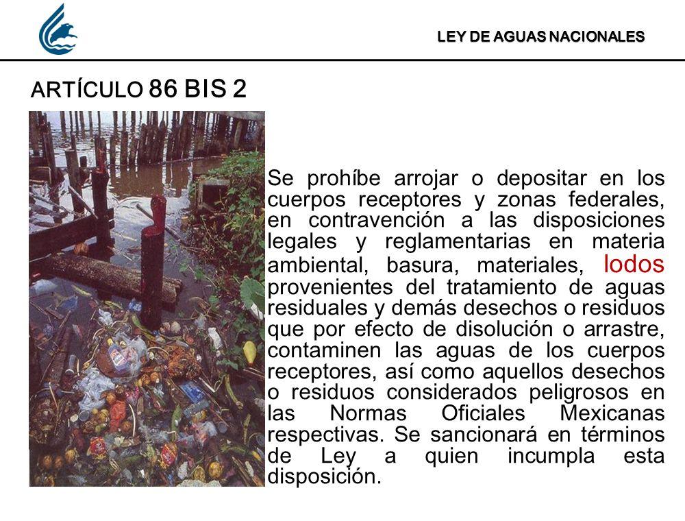REGLAMENTO DE LA LEY DE AGUAS NACIONALES ARTÍCULO 148 Los lodos producto del tratamiento de las aguas residuales, deberán estabilizarse en los términos de las disposiciones legales y reglamentarias de la materia.