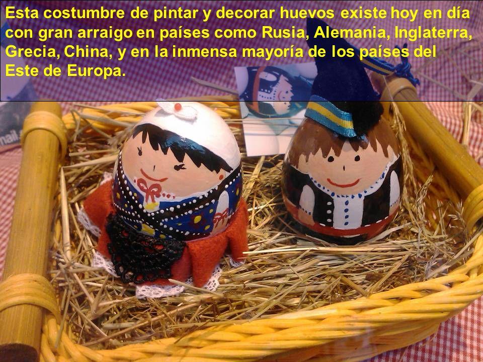 La llegada a Asturias de tradiciones autóctonas de estos paises, influyó con el paso de los años en la población local, de echo la costumbre de pintar