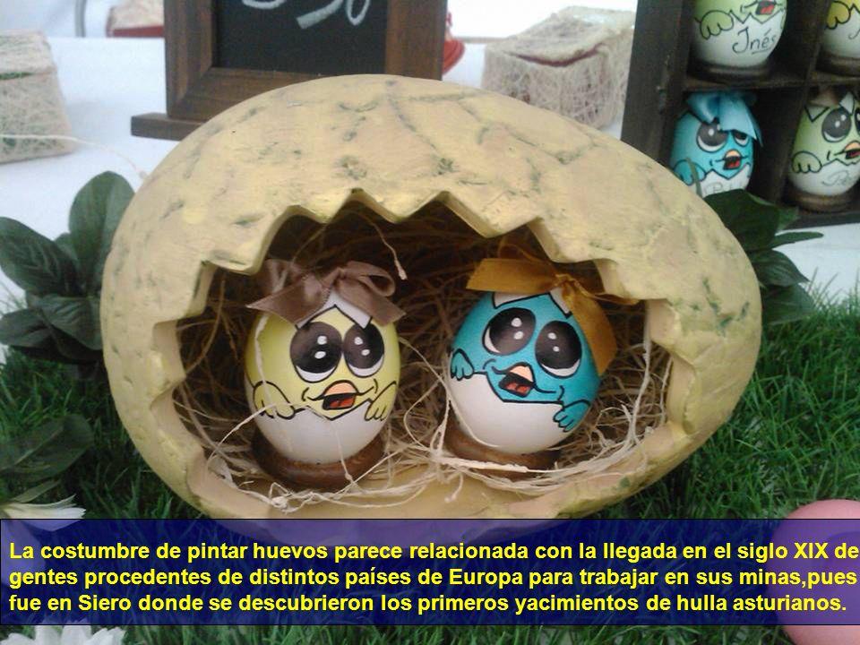 A las doce del mediodía se celebra la bendición de los huevos en Bable