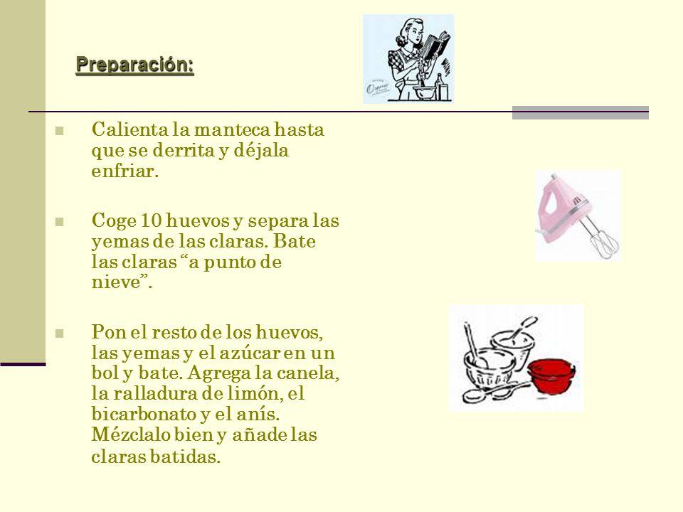 Receta Receta Rosquillas Por San Blas, Rosquillas de Dicastillo comerás Ingredientes: 12 huevos grandes 3 ó 4 k. de harina 1 k. de azúcar ¾ k. de mant