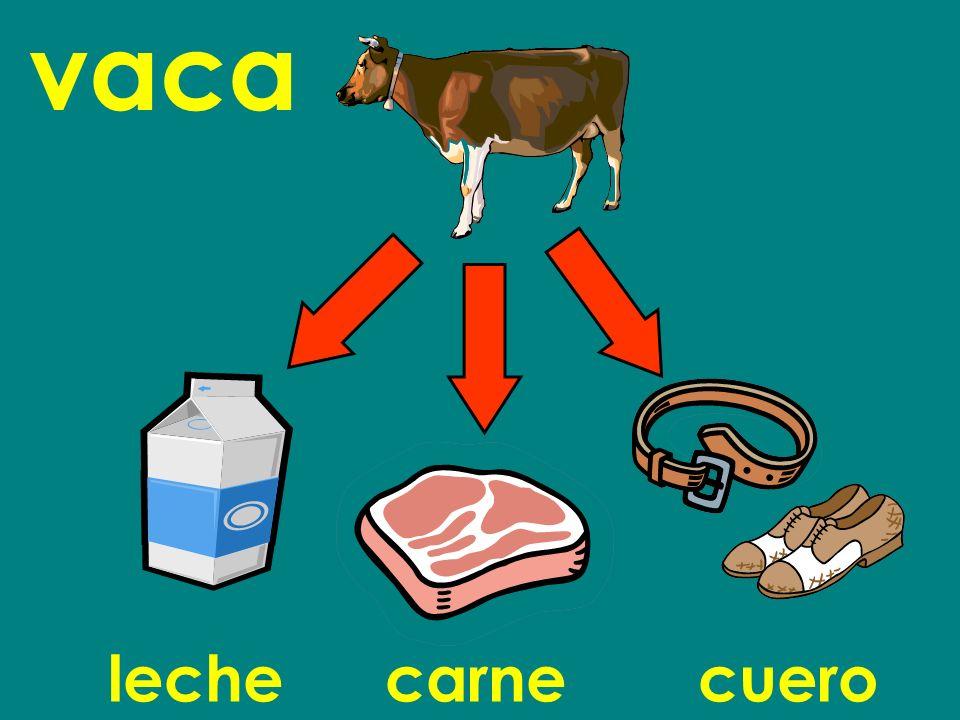 vaca lechecarnecuero