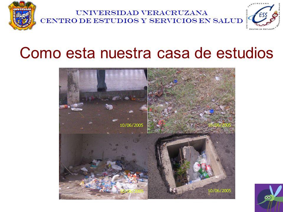 UNIVERSIDAD VERACRUZANA CENTRO DE ESTUDIOS Y SERVICIOS EN SALUD Como esta nuestra casa de estudios