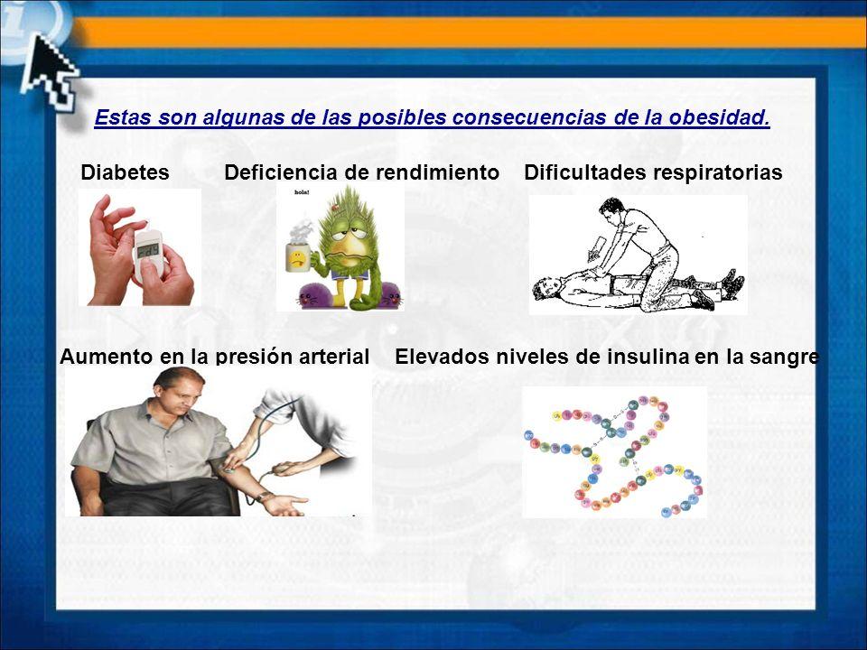 Estas son algunas de las posibles consecuencias de la obesidad.