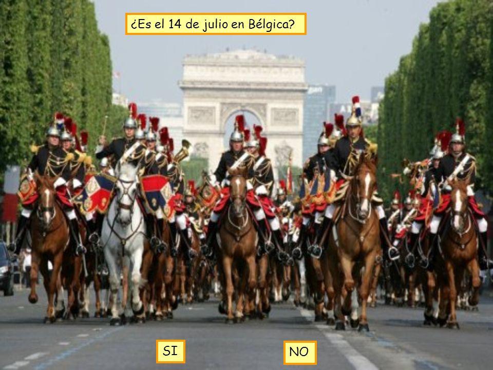 ¿Es el 14 de julio en Bélgica? SI NO