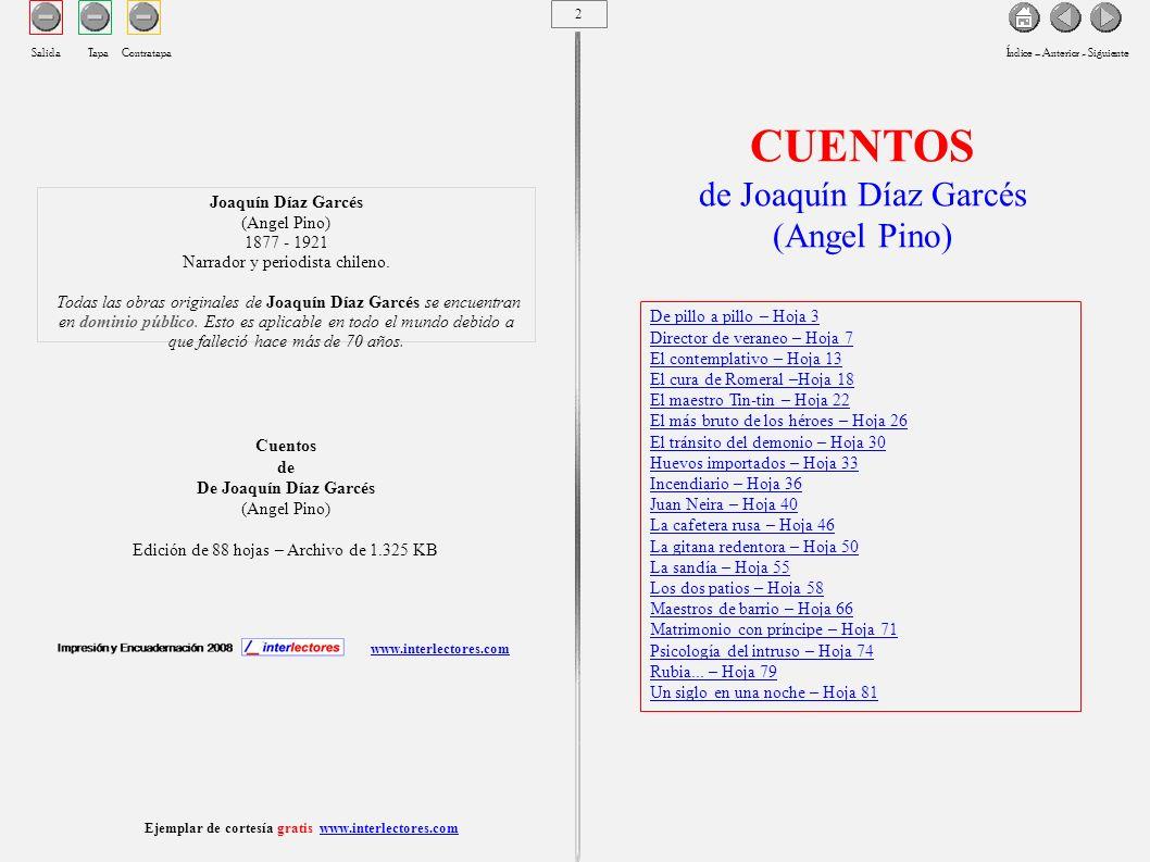 Ejemplar de cortesía gratis www.interlectores.com 3