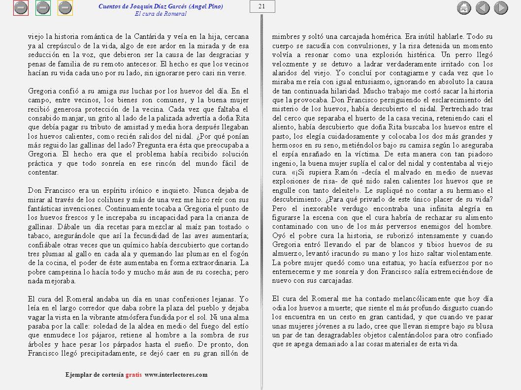 22 Ejemplar de cortesía gratis www.interlectores.com