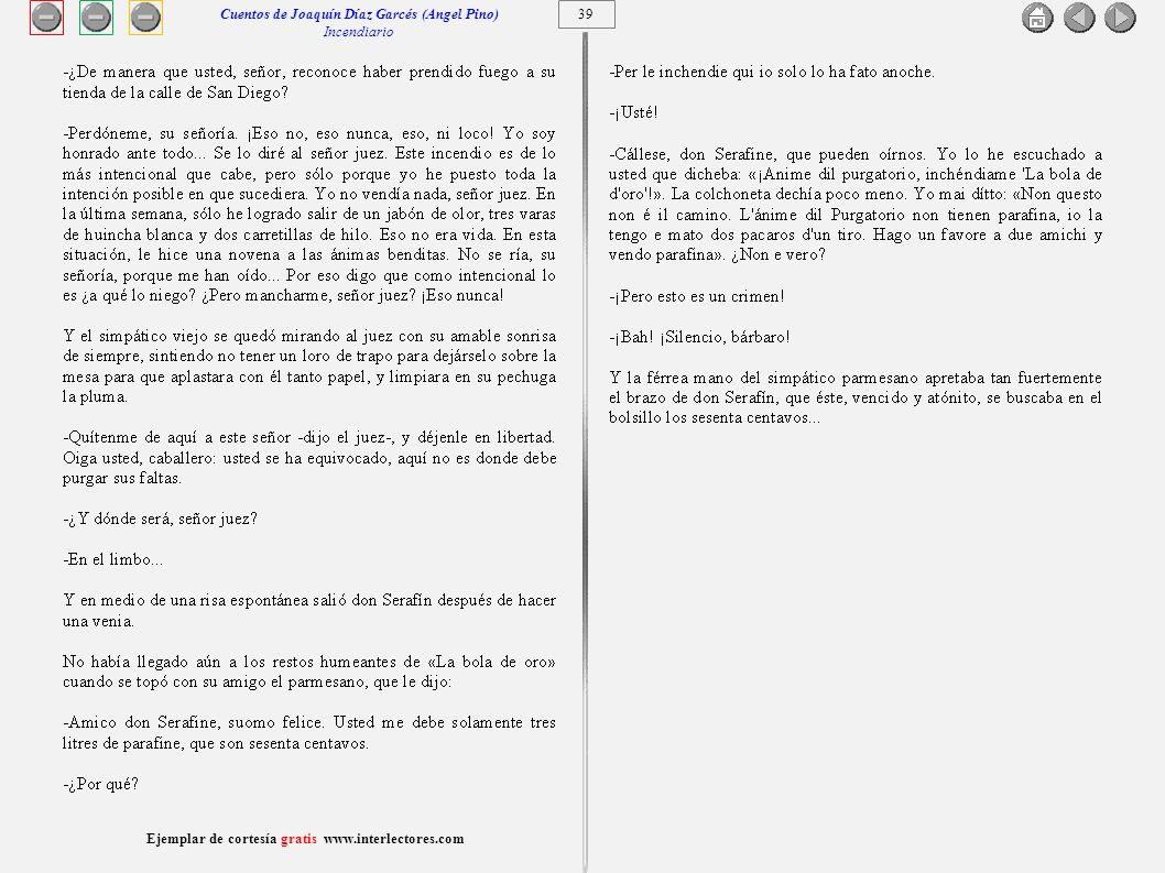 40 Ejemplar de cortesía gratis www.interlectores.com