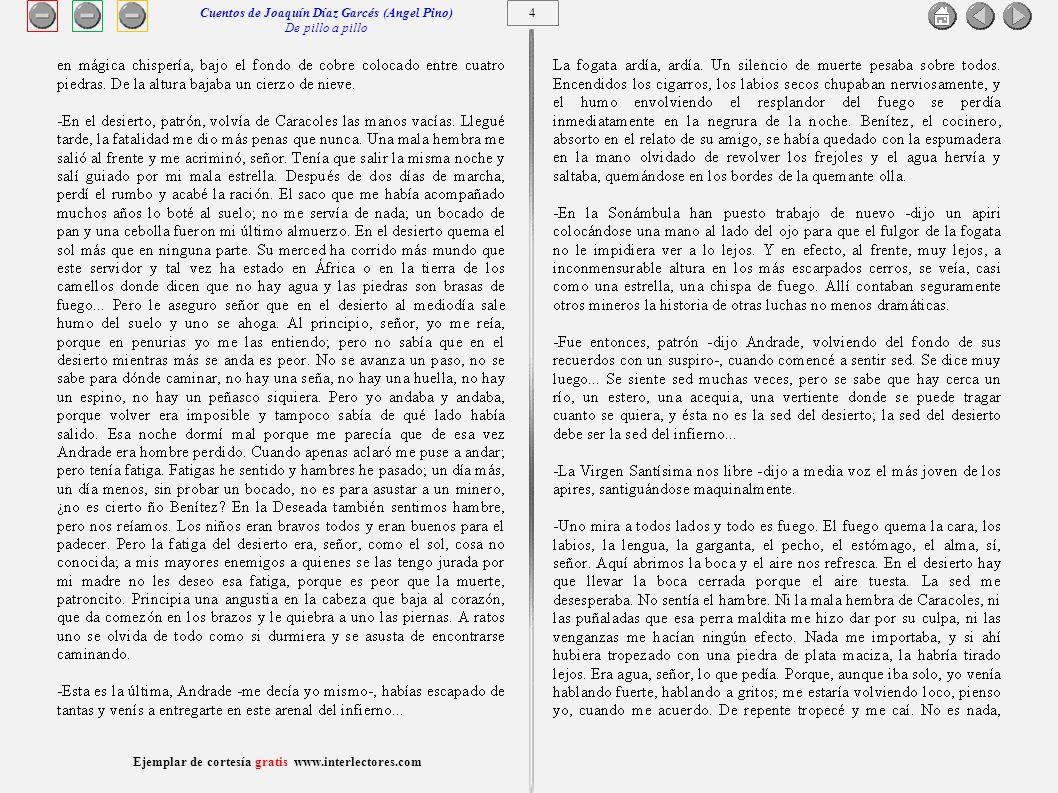 5 Cuentos de Joaquín Díaz Garcés (Angel Pino) De pillo a pillo