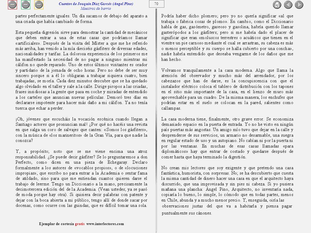71 Ejemplar de cortesía gratis www.interlectores.com Cuentos de Joaquín Díaz Garcés (Angel Pino) Matrimonio con príncipe