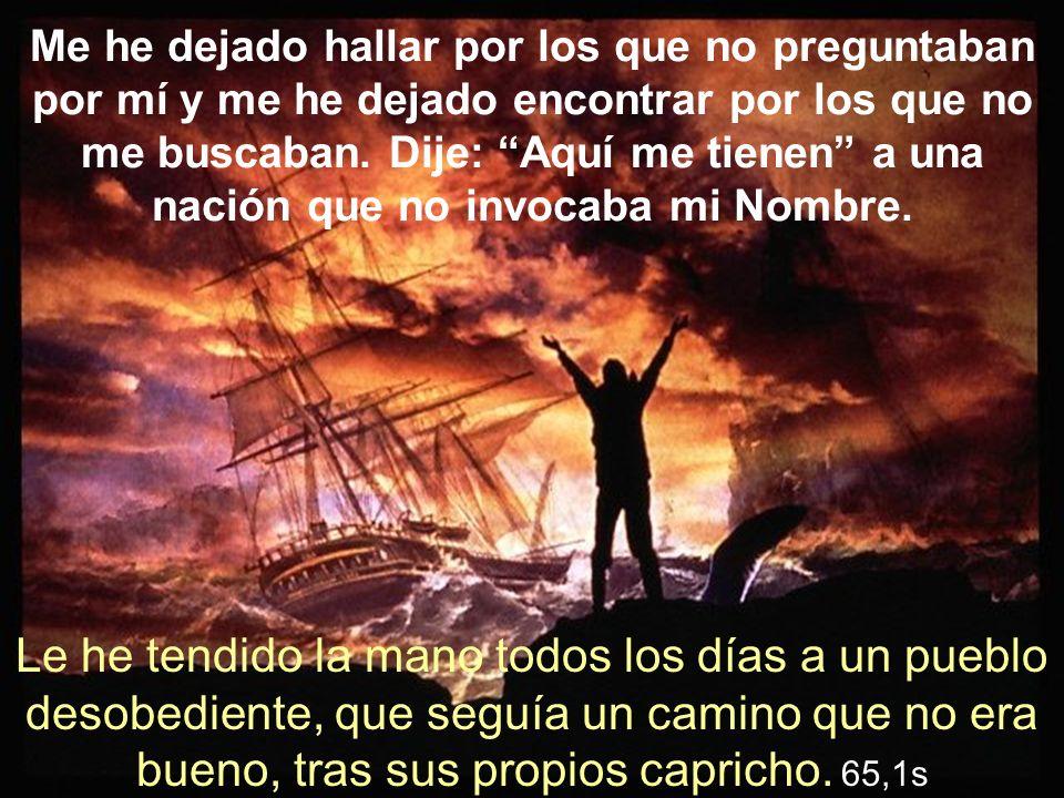 El Espíritu del Señor está sobre mí, porque Yavé me ha ungido.