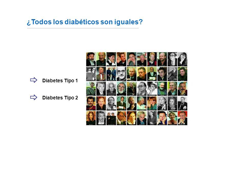 ¿Todos los diabéticos son iguales.