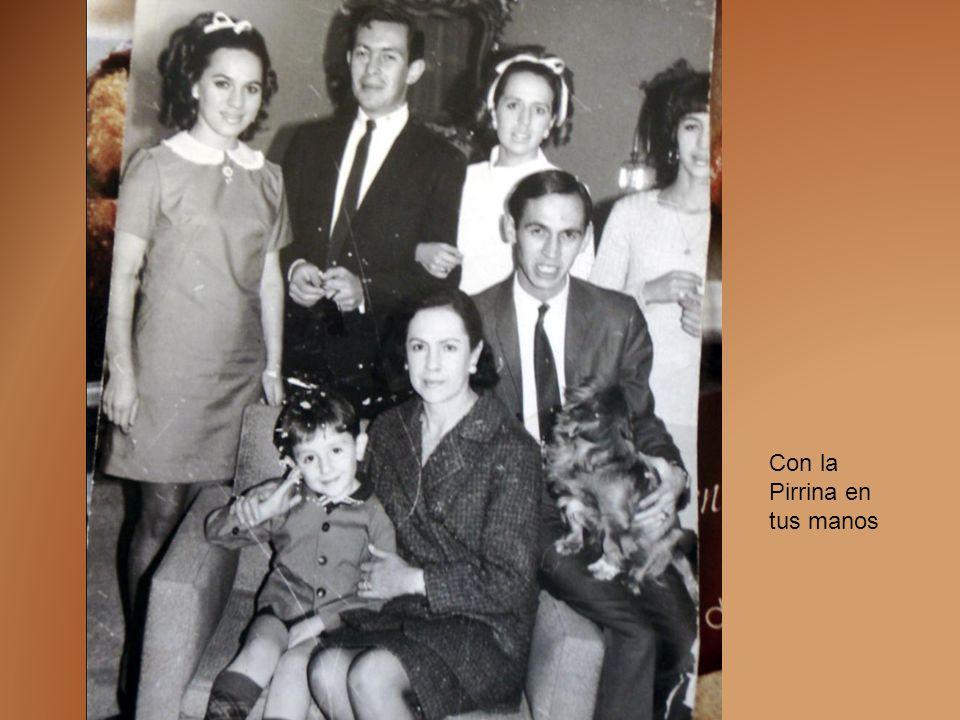 Javier Manuel Alducin Varela El primer aniversario de tu partida con el Señor fue motivo para que se reunieran tu esposa y parentela en animado desayu