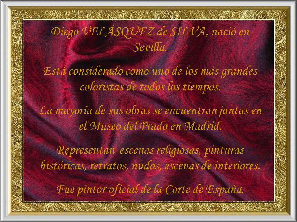 VELÁSQUEZ 1599 - 1660