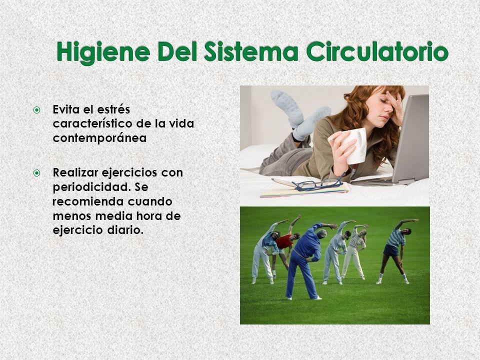 Evita el estrés característico de la vida contemporánea Realizar ejercicios con periodicidad.