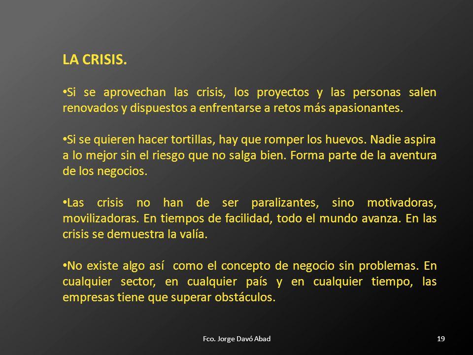 19 LA CRISIS.