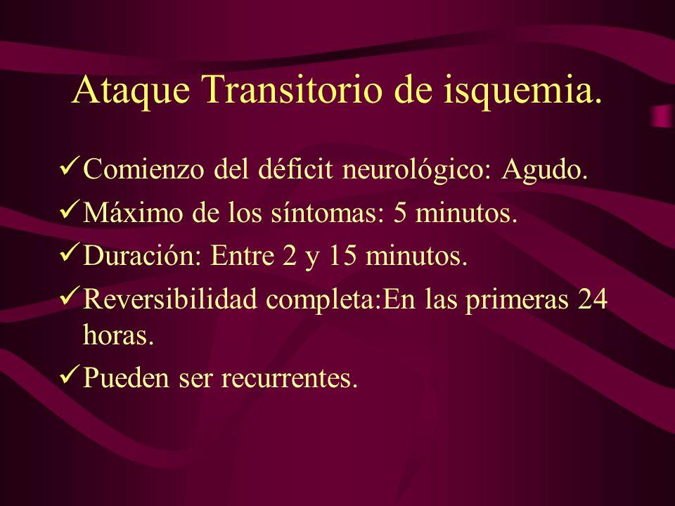 Estudio Neurovasculares.Doppler y Ecodoppler de TSA.