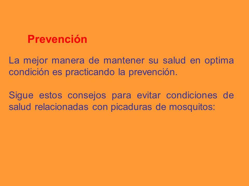 La mejor manera de mantener su salud en optima condición es practicando la prevención. Sigue estos consejos para evitar condiciones de salud relaciona