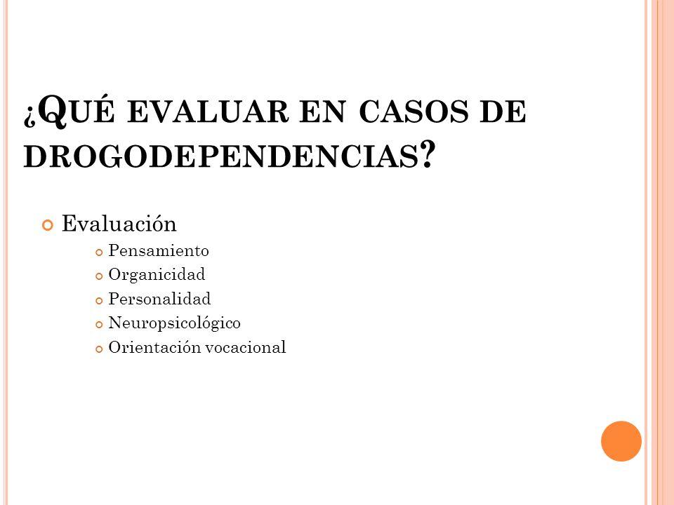 REFERENCIAS http://www.med.uchile.cl/apuntes/archivo s/2004/medicina/diag_evaluacion_psiq.pdf http://www.med.uchile.cl/apuntes/archivo s/2004/medicina/diag_evaluacion_psiq.pdf http://psicouas.files.wordpress.com/2008/0 5/organicidad-y-madurez- perceptual1.ppt#257,2,El Concepto de Organicidad http://neurologia.rediris.es/congreso- 1/conferencias/neuropsicologia-1-5.html http://neurologia.rediris.es/congreso- 1/conferencias/neuropsicologia-1-5.html http://mimosa.pntic.mec.es/aorcajad/prue bas_de_evaluacion.htm