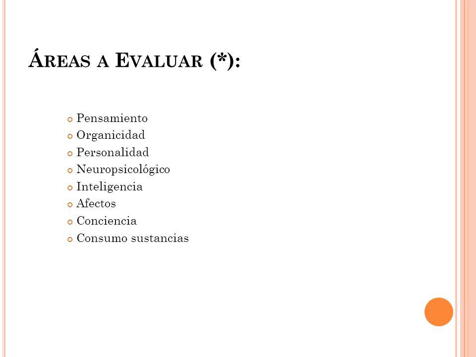 P ERSONALIDAD ¿Cómo Evaluar?: Inventario de Eysenck y Eysenck Estilos de Personalidad de Millon Machover Sacks TAT Rorschach Persona-casa-arbol Pata negra (niños)