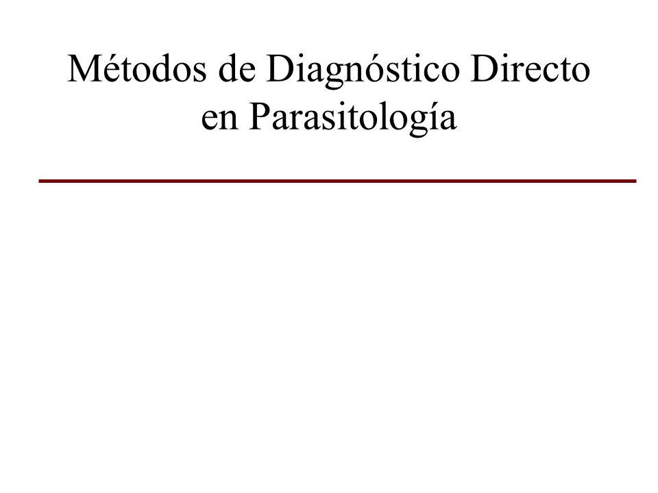 Microscópicos Examen en fresco Fondo oscuro Frotis coloreados Cortes histológicos Cultivos Inoculación experimental Xenodiagnóstico