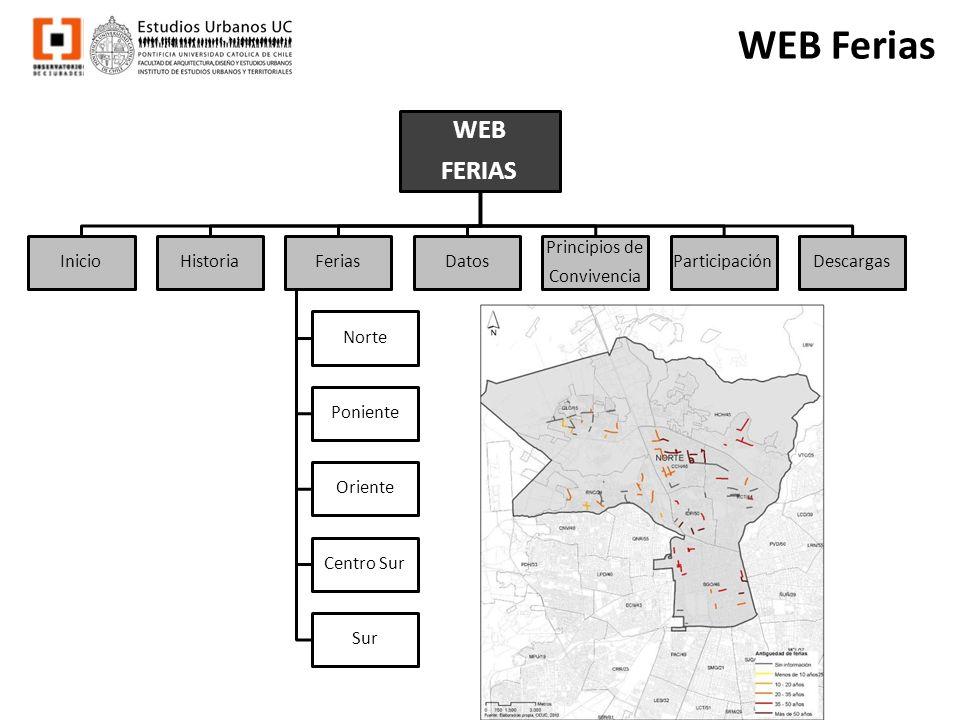 WEB Ferias WEB FERIAS InicioHistoriaFerias Norte Poniente Oriente Centro Sur Sur Datos Principios de Convivencia ParticipaciónDescargas