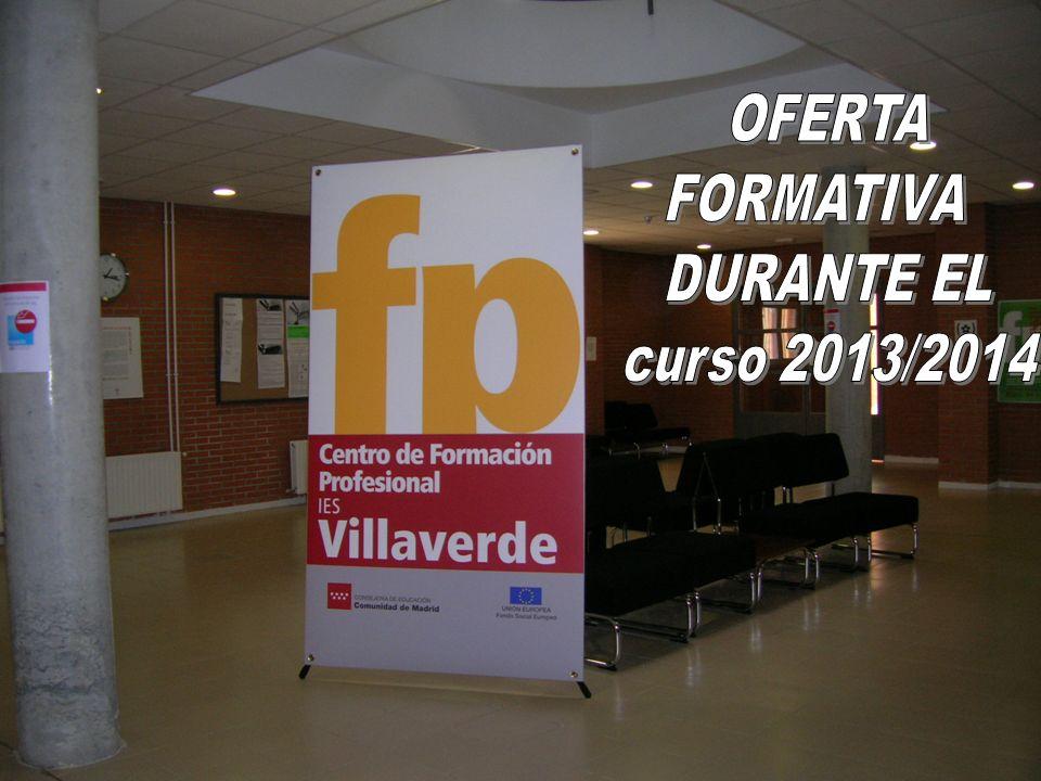 El Centro de Formación Profesional IES Villaverde Posee la CARTA UNIVERSITARIA ERASMUS desde el curso 2007-2008.