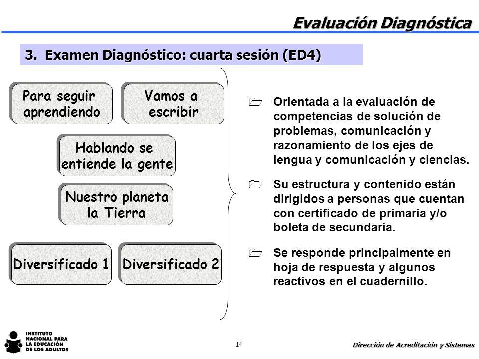 1 Orientada a la evaluación de competencias de comunicación, solución de problemas y razonamiento de los ejes de matemáticas y ciencias. 1 Se responde