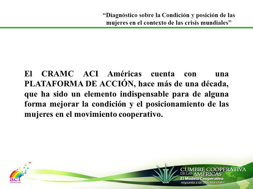 El CRAMC ACI Américas cuenta con una PLATAFORMA DE ACCIÓN, hace más de una década, que ha sido un elemento indispensable para de alguna forma mejorar