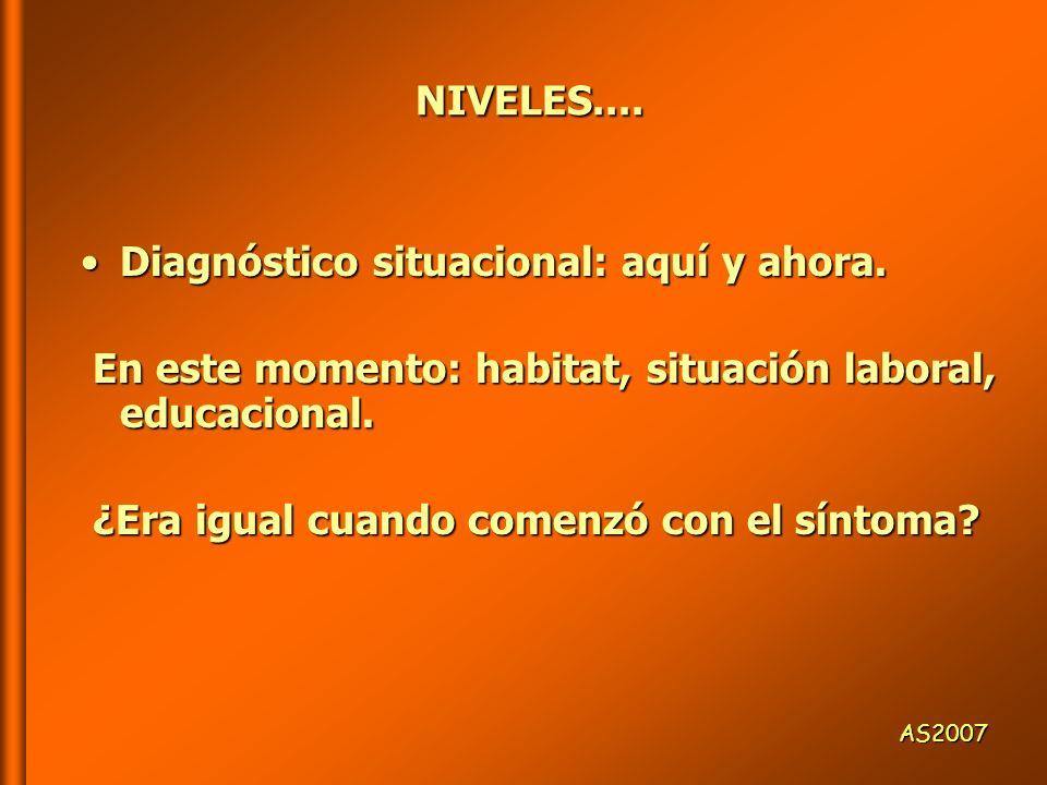 NIVELES.... NIVELES.... Diagnóstico comunicacional:Diagnóstico comunicacional: estilos estilos niveles culturales niveles culturales climas afectivos