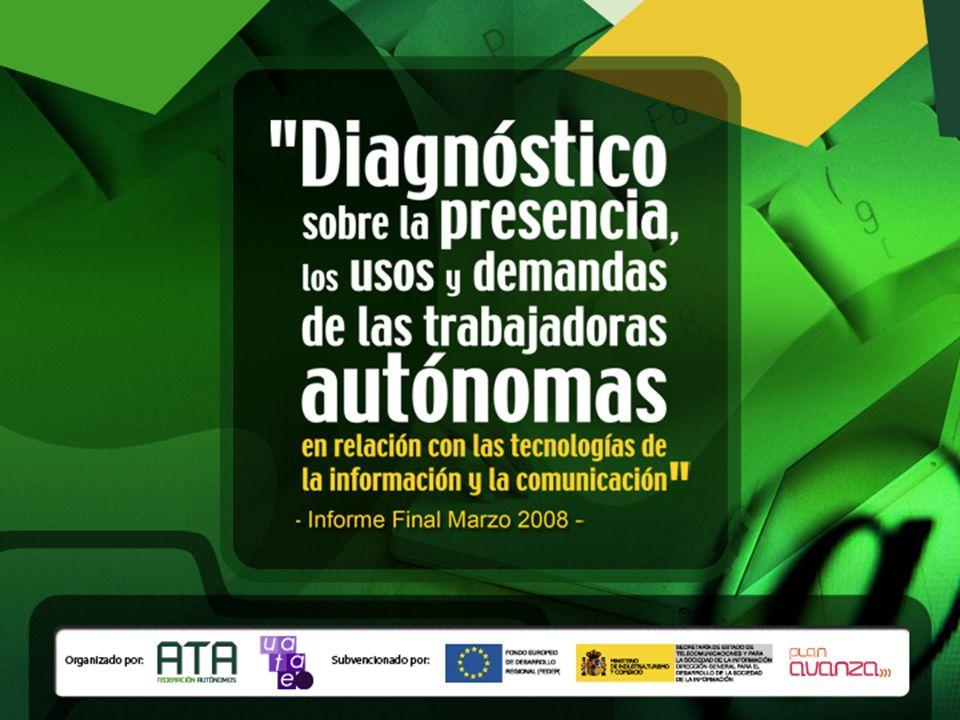 Diagnóstico sobre la presencia, los usos y demandas de las trabajadoras autónomas en relación con las tecnologías de la información y la comunicación