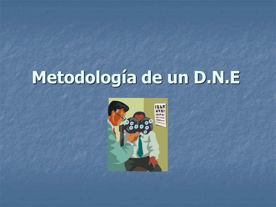 Metodología de un D.N.E 4to.Paso: Análisis de rendimiento 4to.