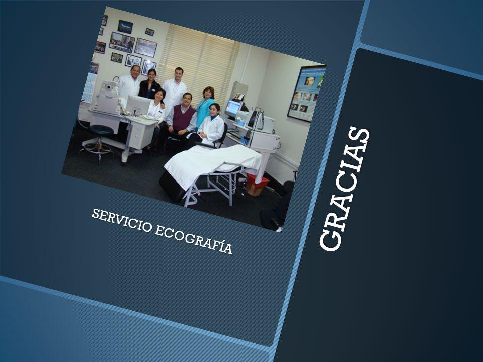 GRACIAS SERVICIO ECOGRAFÍA