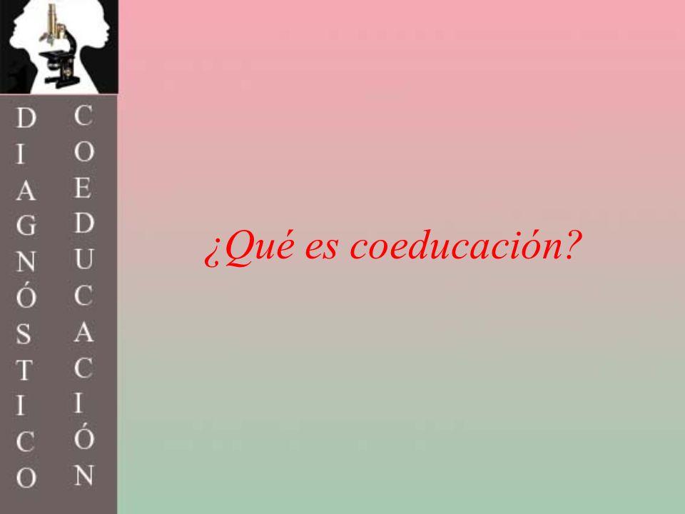 HISTORIA DE LA COEDUCACIÓN A Acceso de la mujer a la educaciónAcceso de la mujer a la educación Enseñanza mixtaEnseñanza mixta Igualdad de derechos y oportunidades Análisis del sexismo en textos y medios.