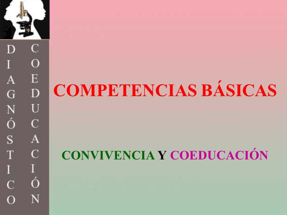 COMPETENCIAS BÁSICAS CONVIVENCIA Y COEDUCACIÓN