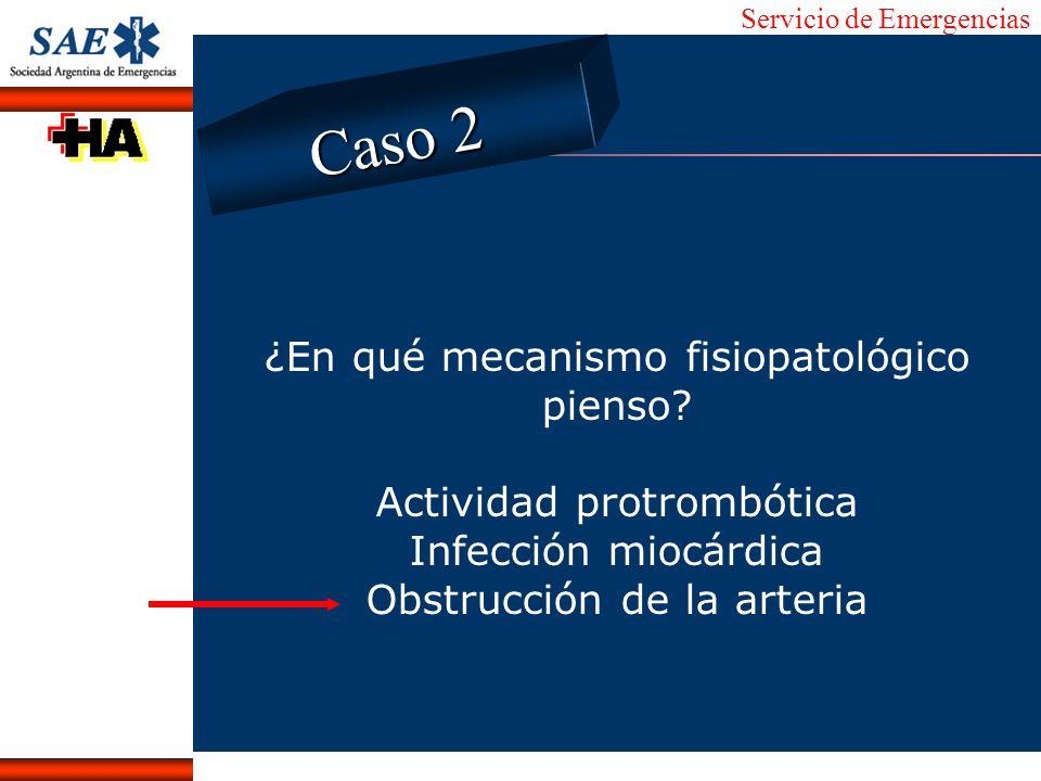 Servicio de Emergencias Alberto José Machado IntroducciónNomencEmergFXTriageCasoDiagnósticoTiempo ¿En qué mecanismo fisiopatológico pienso? Actividad