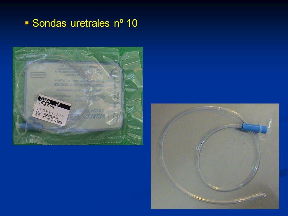Sondas uretrales nº 10 Sondas uretrales nº 10