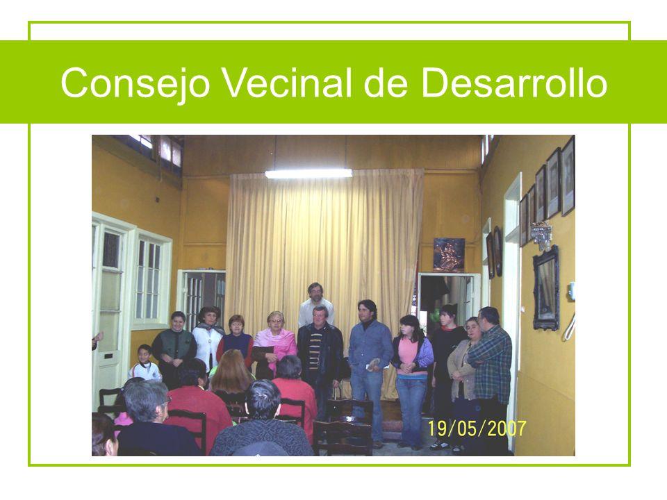 Constitución CVD Consejo Vecinal de Desarrollo
