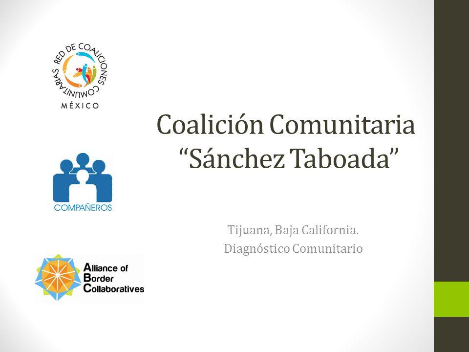 Coalición Comunitaria Sánchez Taboada Tijuana, Baja California. Diagnóstico Comunitario