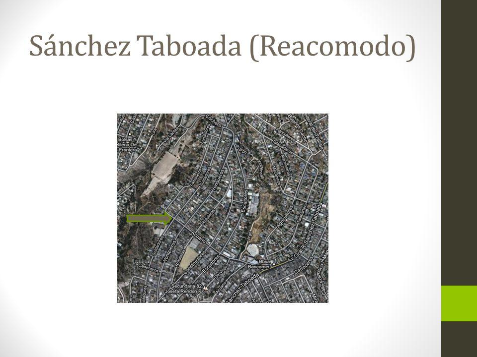 Sánchez Taboada (Reacomodo)