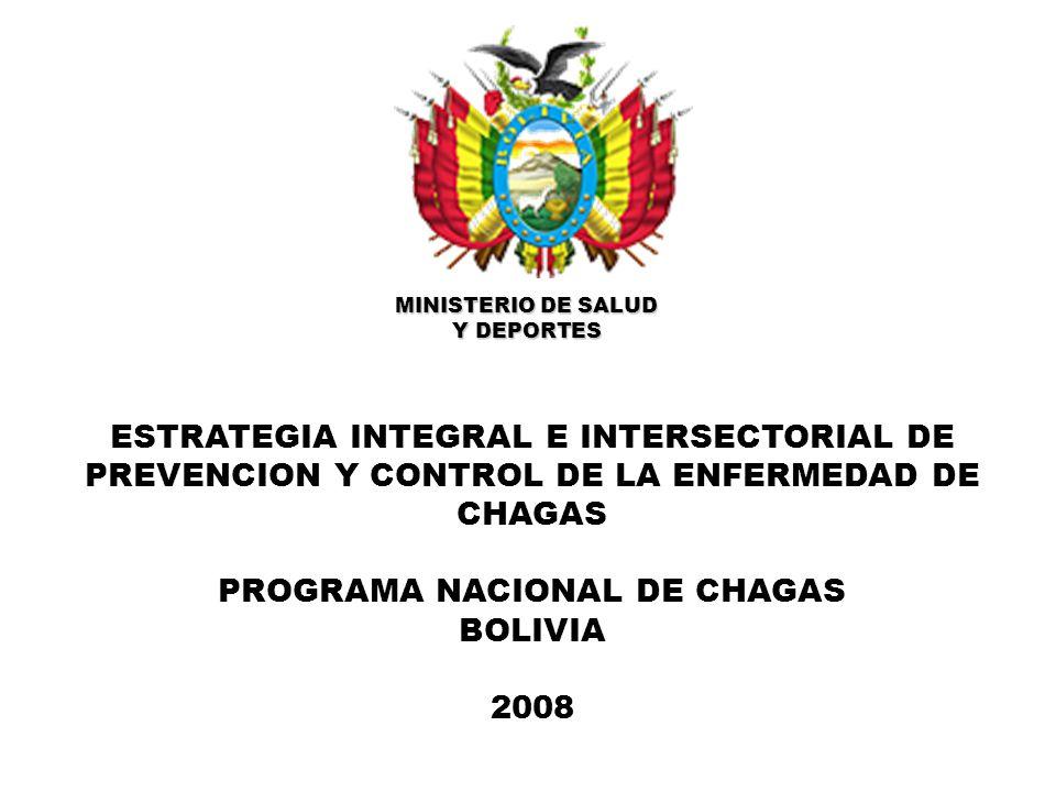 ESTRATIFICACION DE RIESGO ALTO A NIVEL DE COMUNIDADES DE ACUERDO A LA REGION BIOGEOGRAFICA DEL CHACO BOREAL