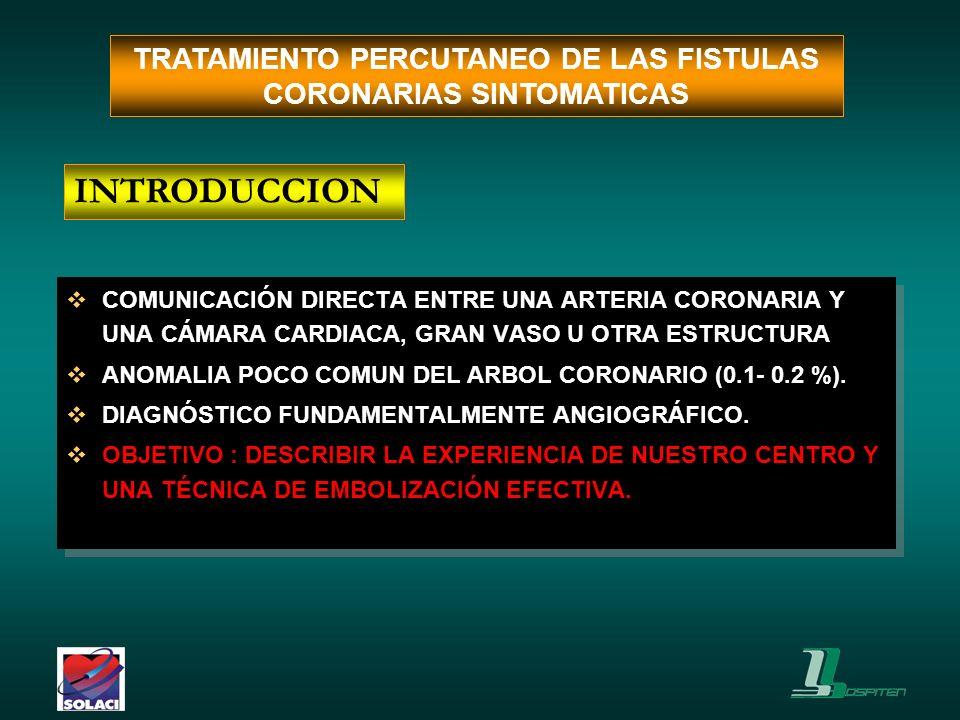 ACCESO PERCUTÁNEO, ARTERIA FEMORAL DERECHA CATÉTER GUÍA.