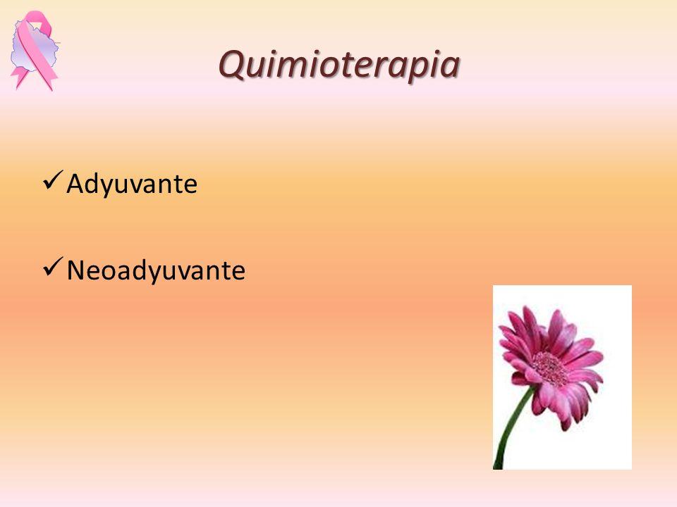 Quimioterapia Adyuvante Neoadyuvante