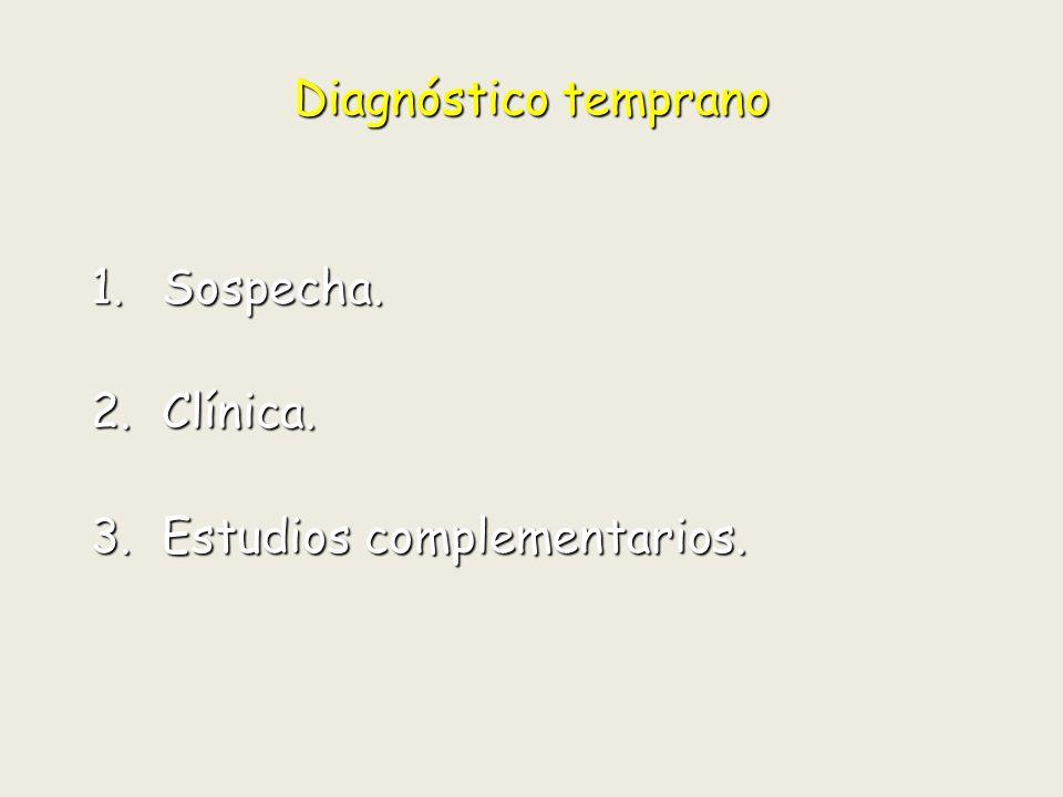Diagnóstico temprano Indice Acetabular Indice Acetabular ( Normal < 25°)