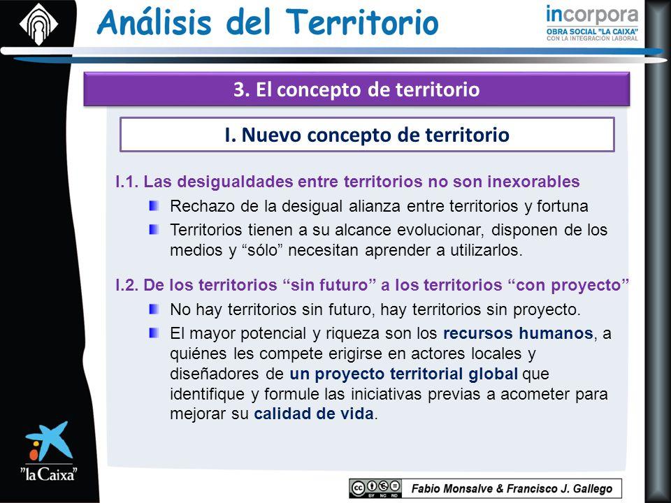 3. El concepto de territorio I.1.