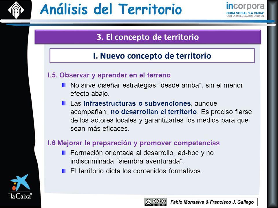 3. El concepto de territorio I.5.