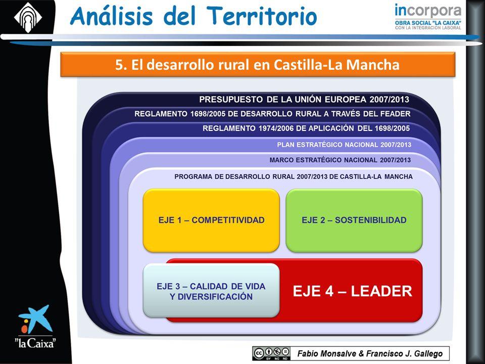 5. El desarrollo rural en Castilla-La Mancha