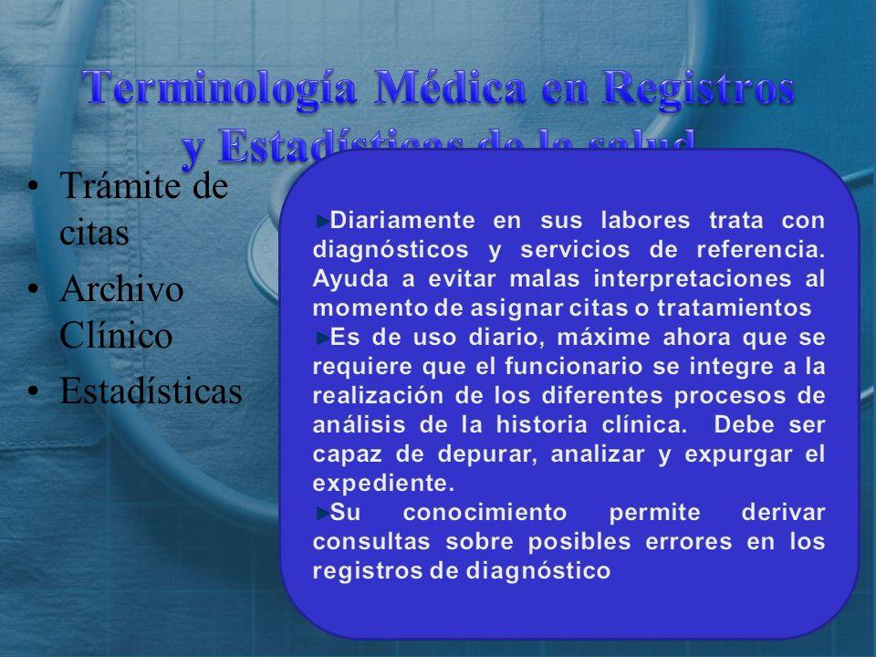 ¿Qué es Terminología Médica? ¿Cuál es el uso de la Terminología Médica?