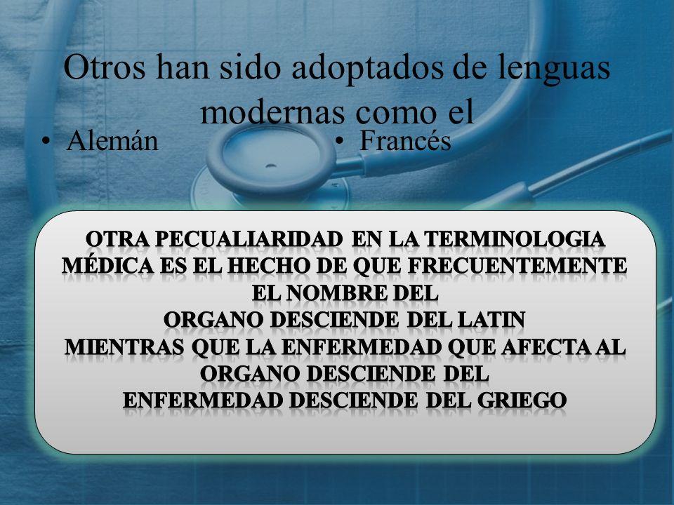 SUFIJOTÉRMINOANÁLISISDEFINICIÓN Malacia (G) Aumento AcromegaliaAcros: extremo Megas: grande Enfermedad marcada por el crecimiento de los huesos y partes blandas de las extremidades y la cara HepatomegaliaEpat: HígadoAumento del tamaño del hígado EsplenomegaliaSplen: BazoAumento del volumen del bazo Oma (G) Tumor AdenomaAden: glándula Oma: tumor Tumor glandular CarcinomaKarkinos: CáncerTumor maligno del tejido epitelial SacomaSark: carneTumor maligno del tejido conjuntivo
