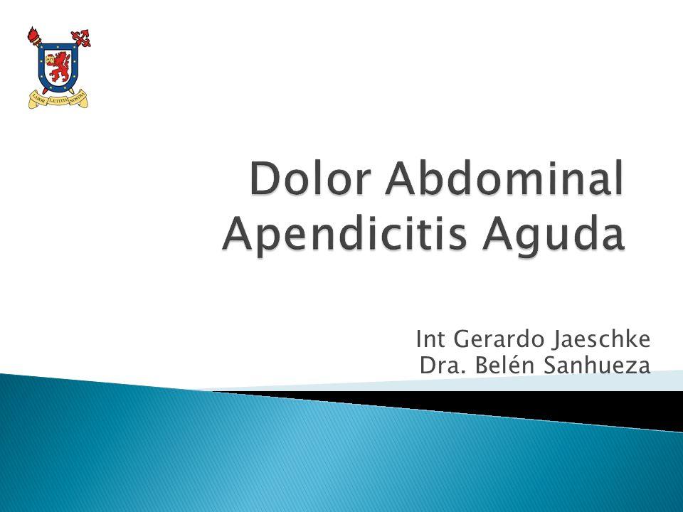 Int Gerardo Jaeschke Dra. Belén Sanhueza